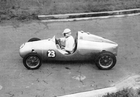 Brabham King Edward Park 1952